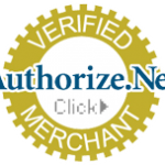 Authorize.net verified merchant badge
