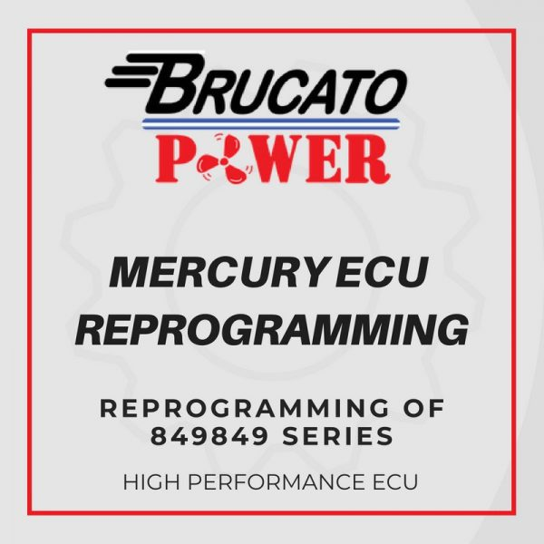 Mercury ECU reprogramming of 849849 series
